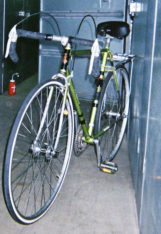 Raleigh Carlton Super Tourer Pedal Room