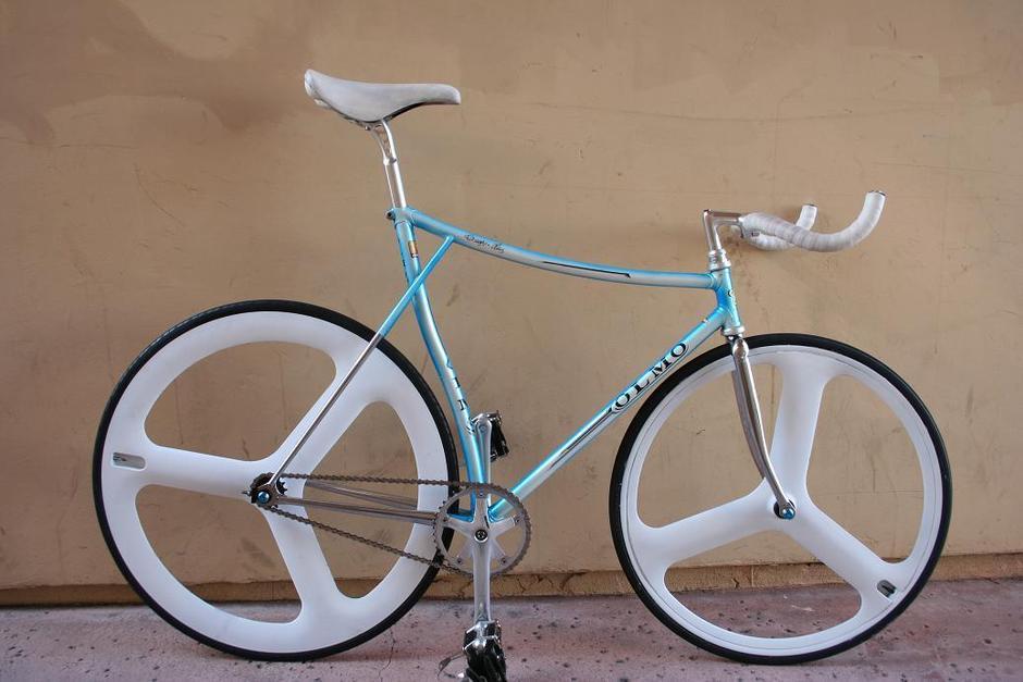 Rare 80 S Olmo Pursuit Track Bike Pedal Room