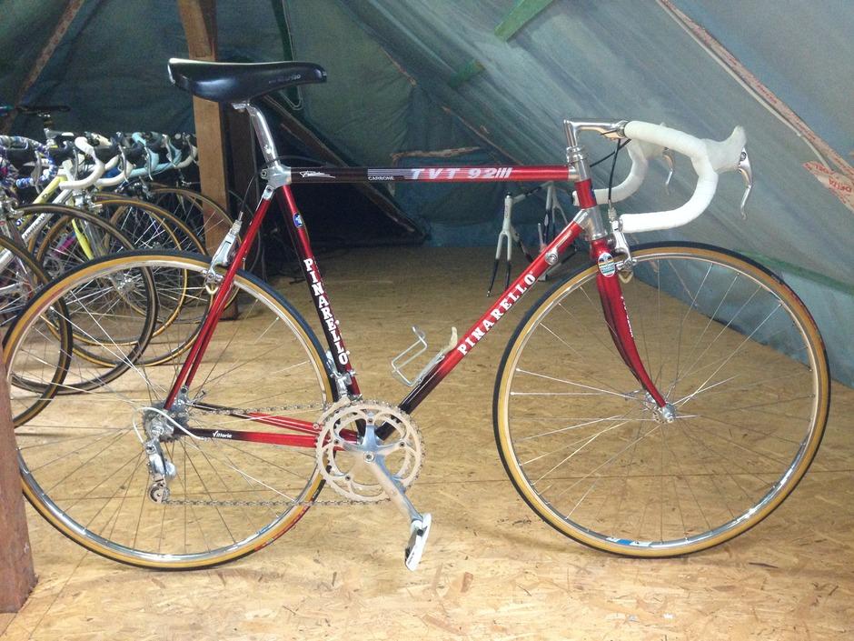 Replica Of Perico S Tvt92 Pinarello Pedal Room