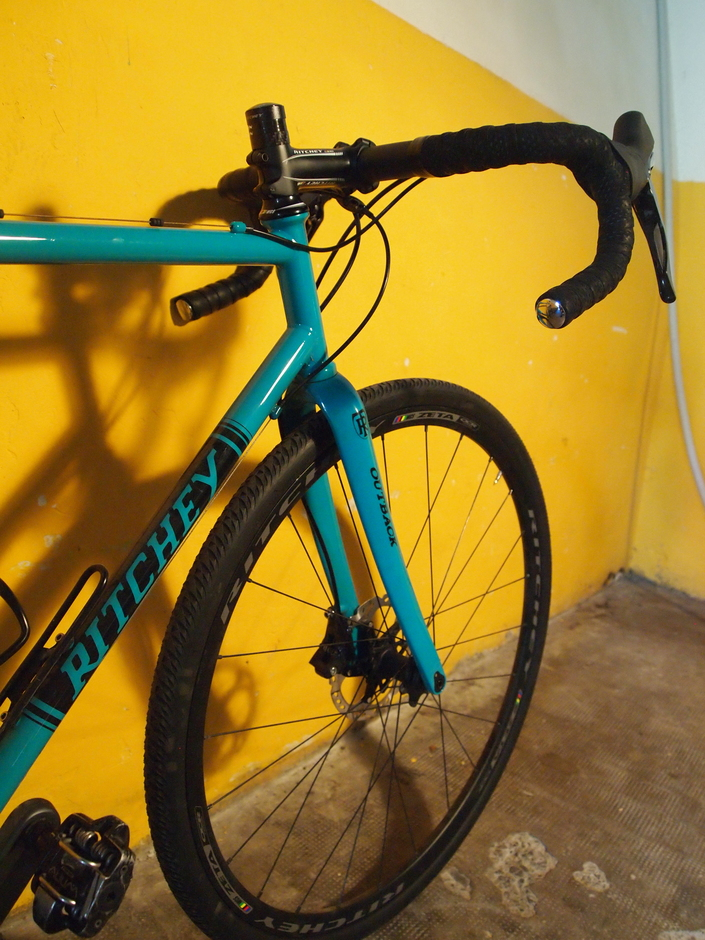 Ritchey Logic Outback Gravel 55cm Pedal Room