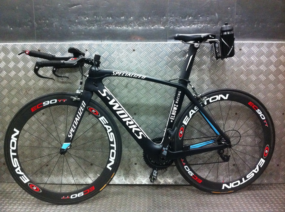 S Works Venge Elbowz Racing Team Pedal Room