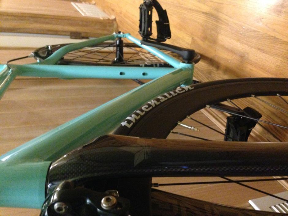 Seafoam Green Belt Drive Pedal Room