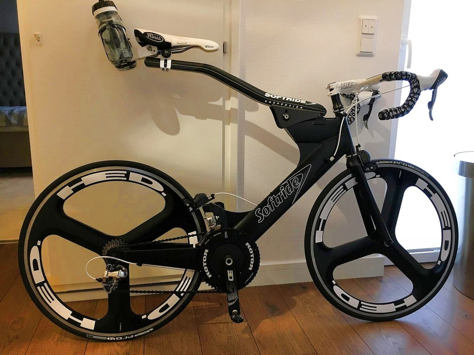 Softride Powerwing Pedal Room
