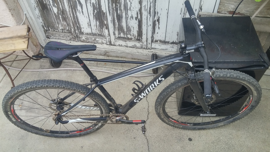 Specialized S Works Stumpjumper Ht Pedal Room