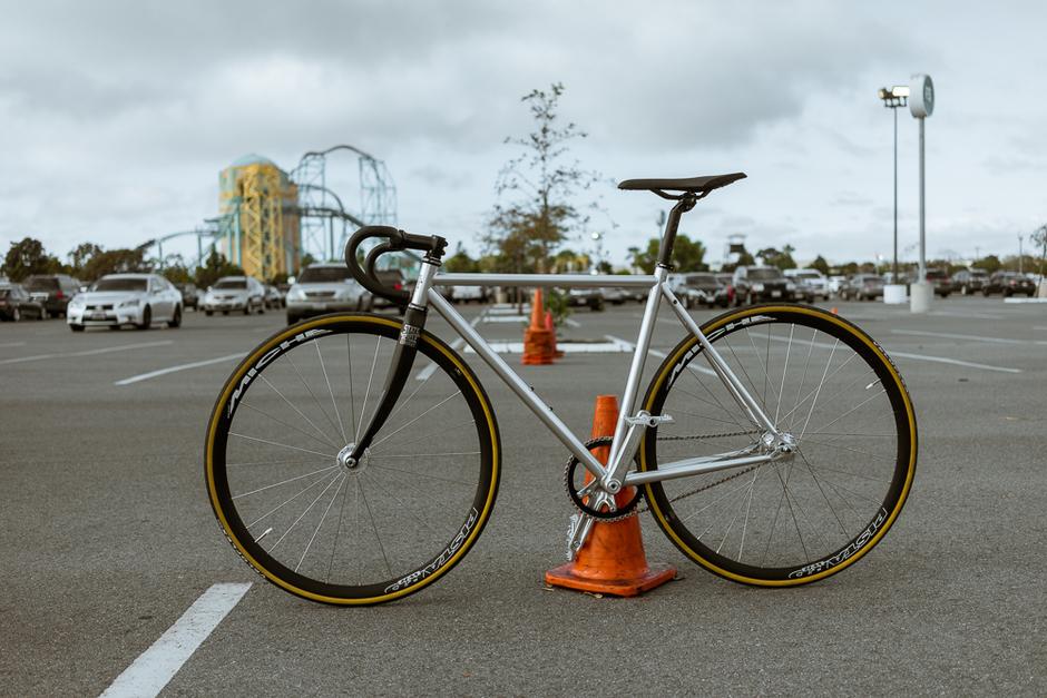 State Bike Custom Track Fixed Gear Bike Pedal Room