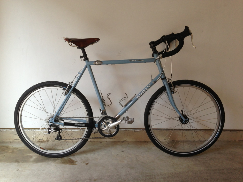 Surly Trucker Deluxe Pedal Room