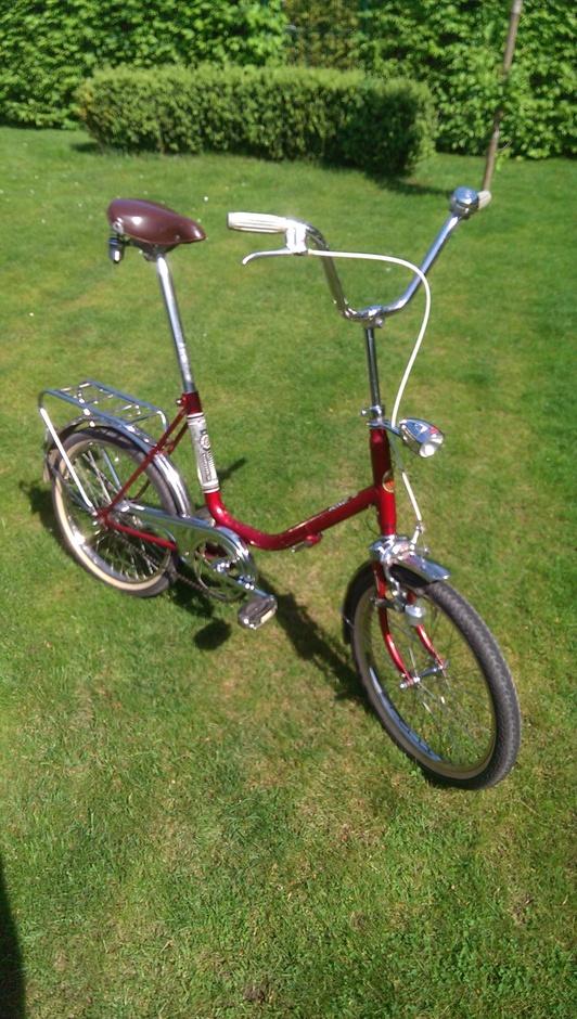 19 Torpedo Werke Rixe Folding Bike Pedal Room