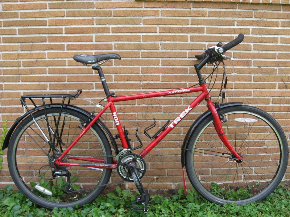 Trek 800 Antelope Pedal Room