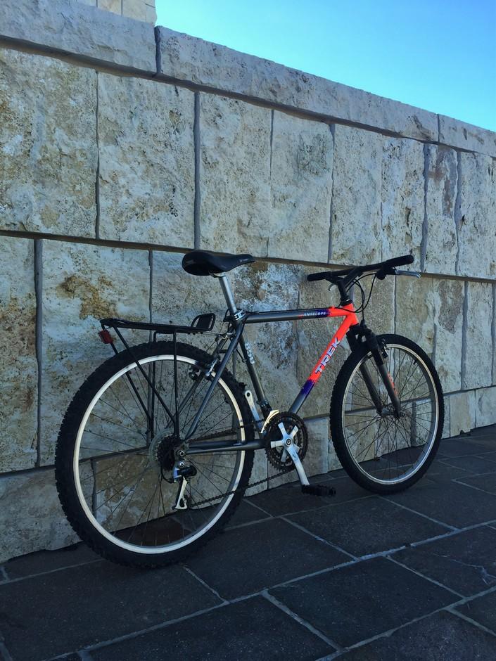Trek 850 Antelope Pedal Room