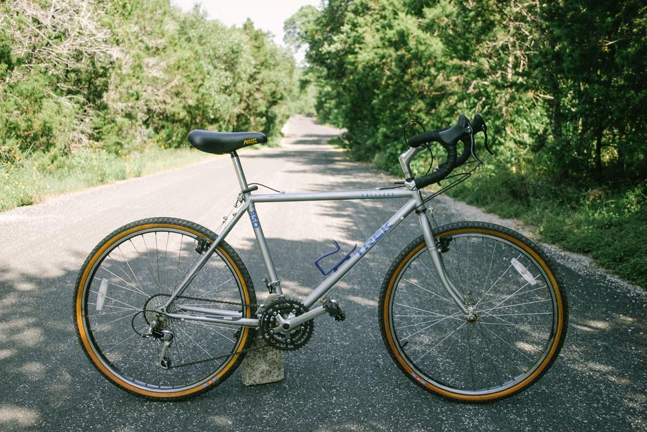 Trek 850 Touring Pedal Room