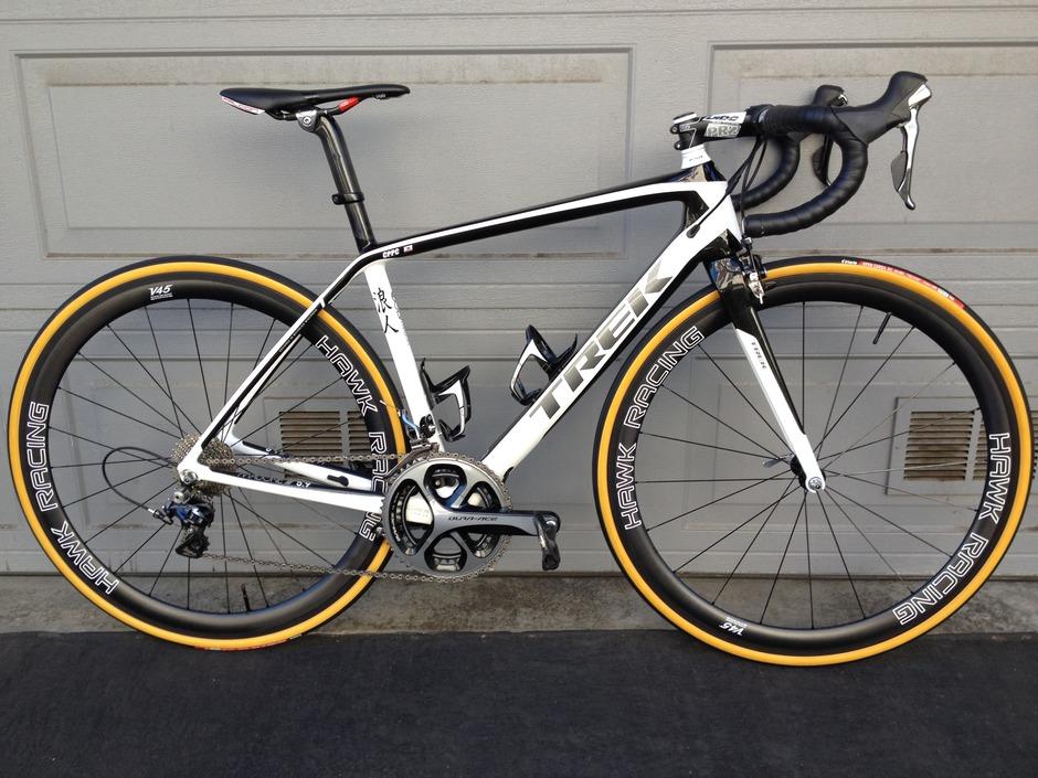 Trek Madone 5.9 2014 - Pedal Room