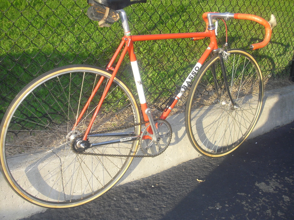 Basso Pista Track Fixed Gear Vintage Pedal Room