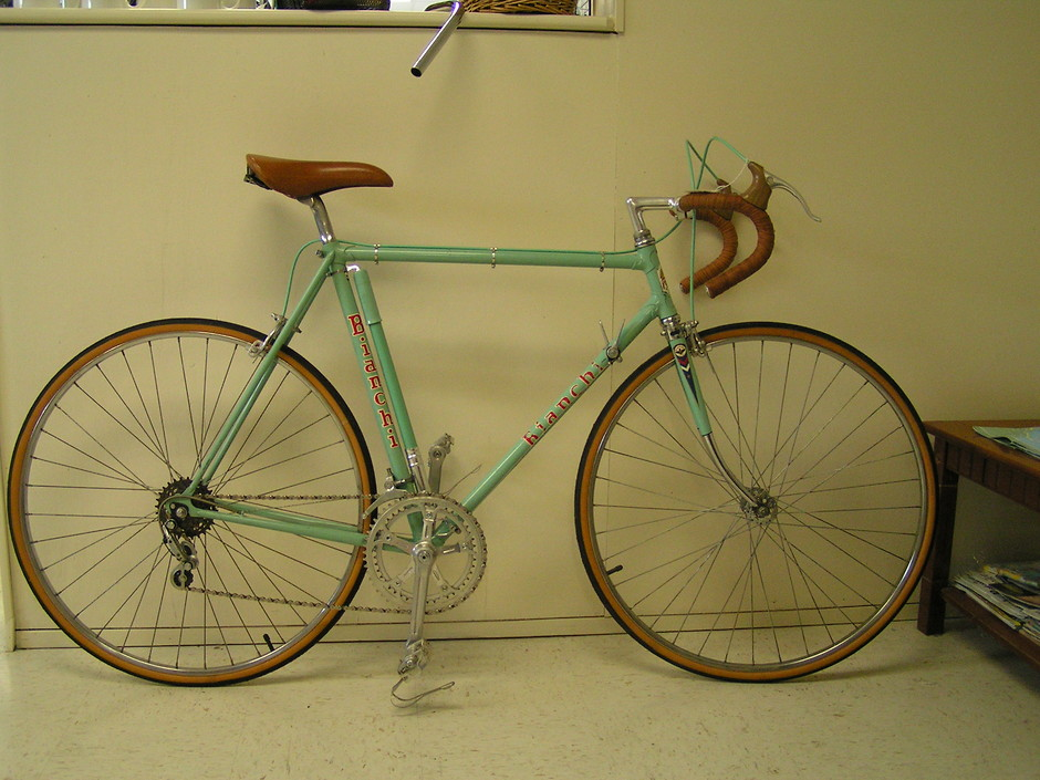 Bianchi 1971 or 1972 - Pedal Room