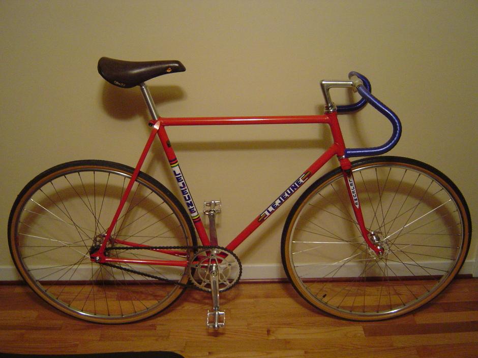 Vintage Track Bike - Pedal Room