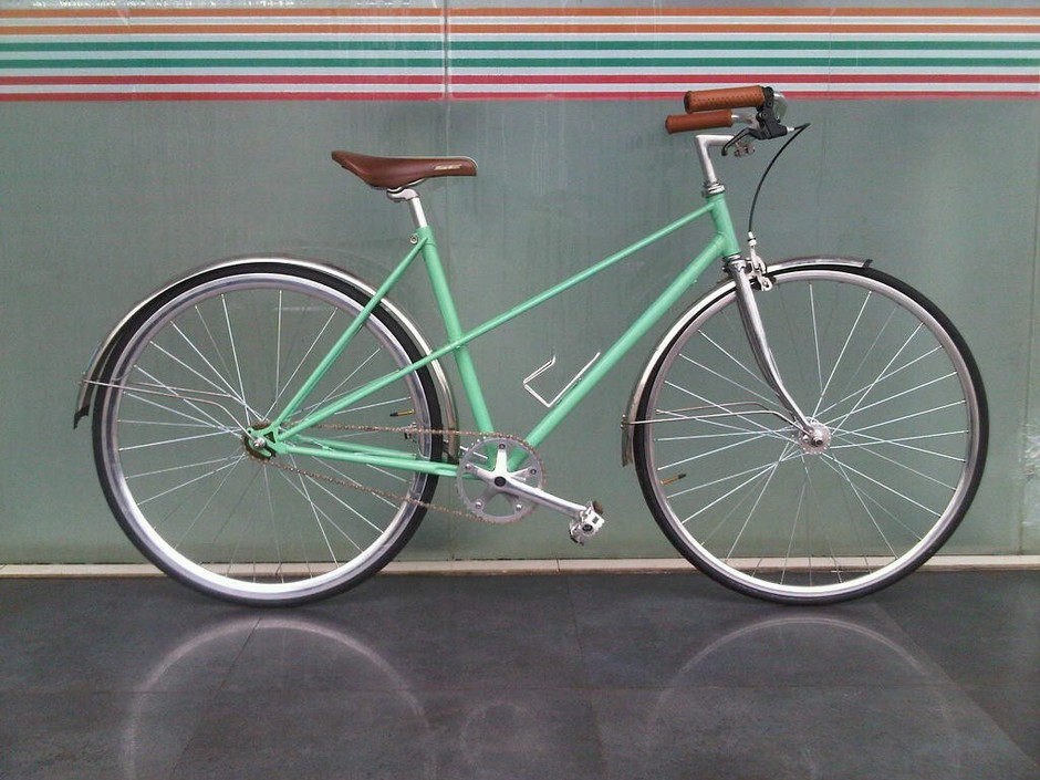Wife S Mixte Pedal Room