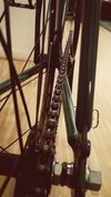 british racing green fixie photo