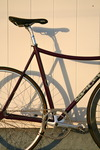 Custom Spicer Cycles Pursuit. photo