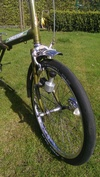 10 Raleigh Twenty Stowaway folding bike photo