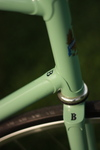 Vintage Bianchi Pista with some Botox photo